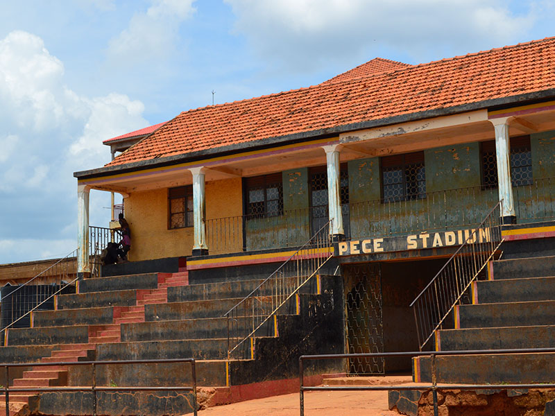 Pece War Memorial Stadium in Gulu