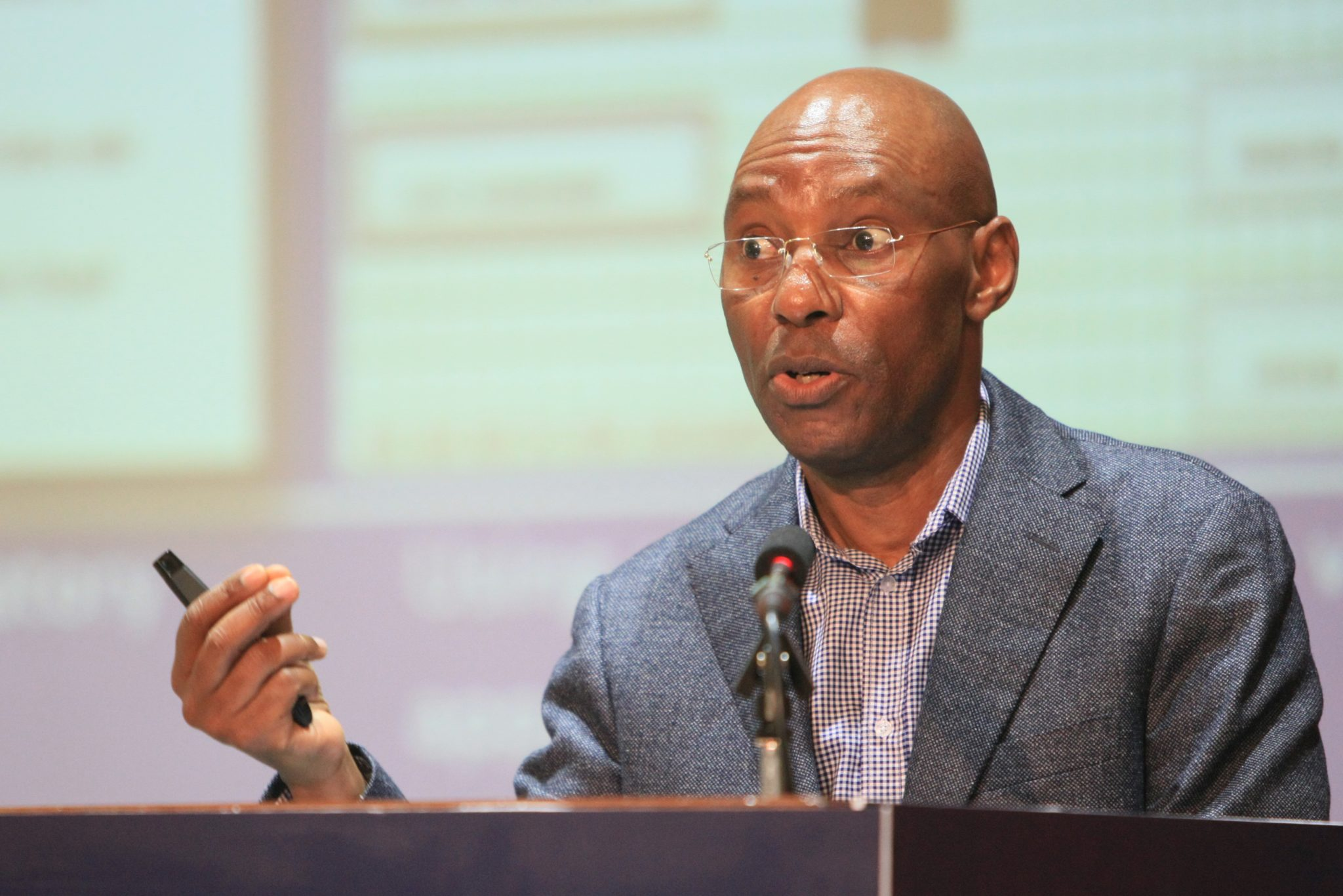 UCC executive director Godfrey Mutabazi. UCC has sanctioned a directive to revoke licences of TV stations that do not have sign language or subtitles effective January 2019 (FILE PHOTO)