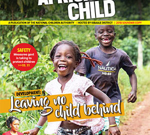 Welcome to the 2018 Day of the African Child official souvenir magazine.