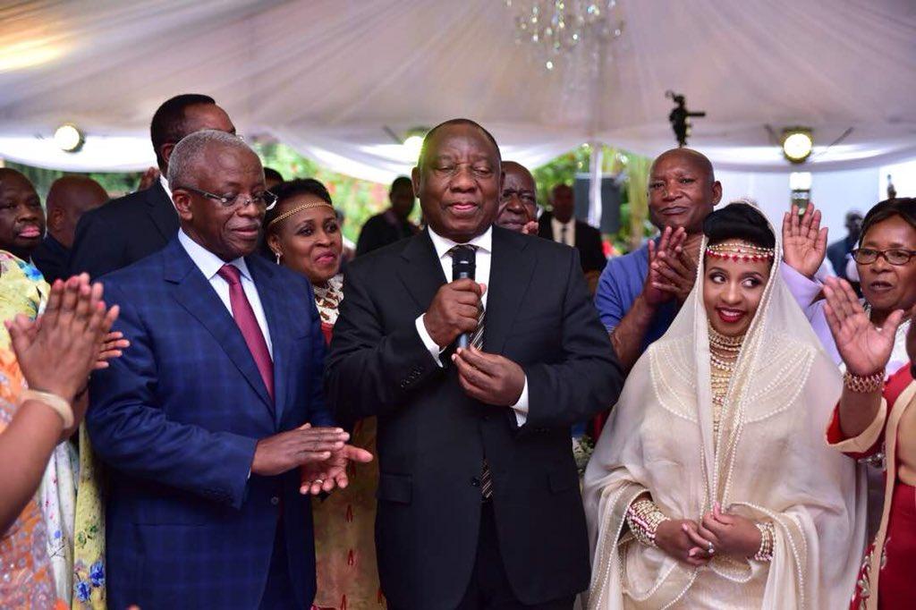 How Ramaphosa Birungi Kuhingira Reunited Museveni Mbabazi Pml Daily