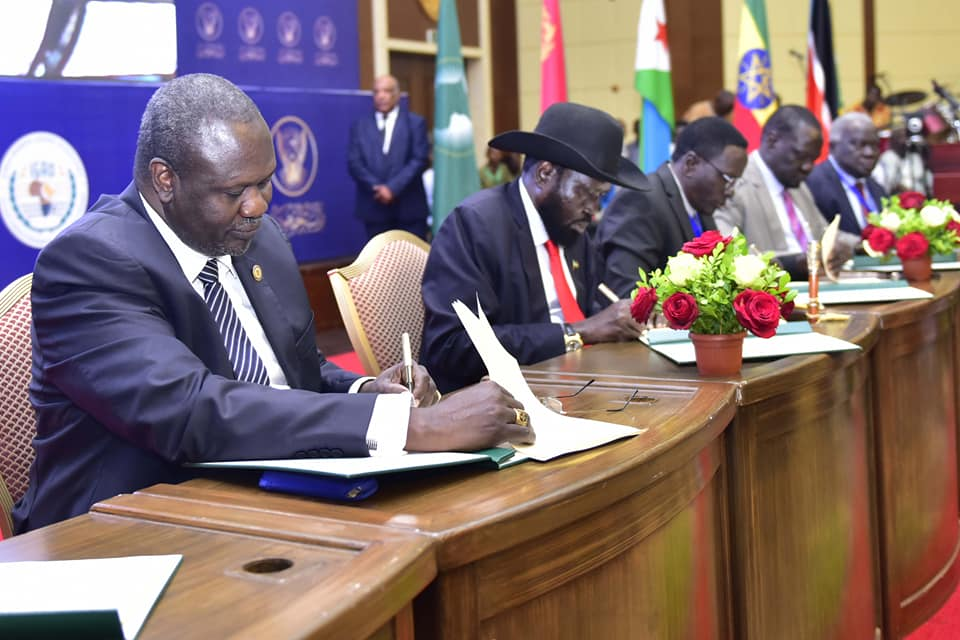 South Sudan's peace agreement finalised – PML Daily