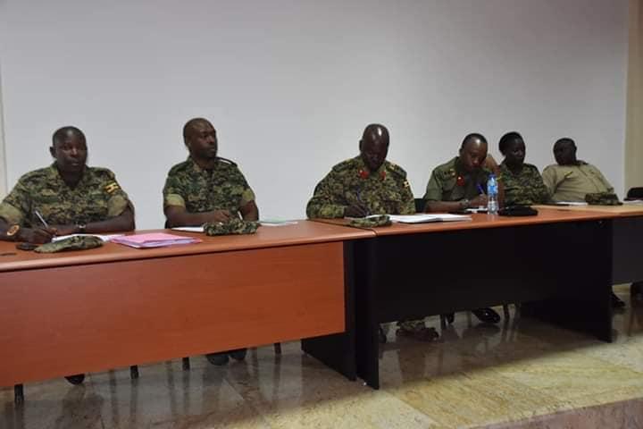 Court Martial UPDF