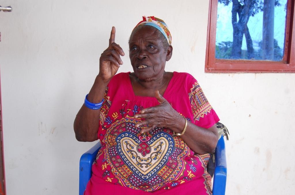 Lydia Nyabihemu the widow