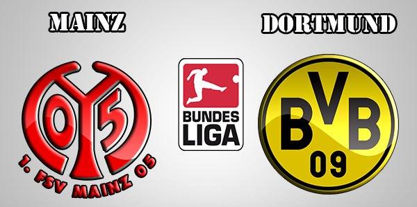 Kết quả hình ảnh cho Dortmund vs Mainz