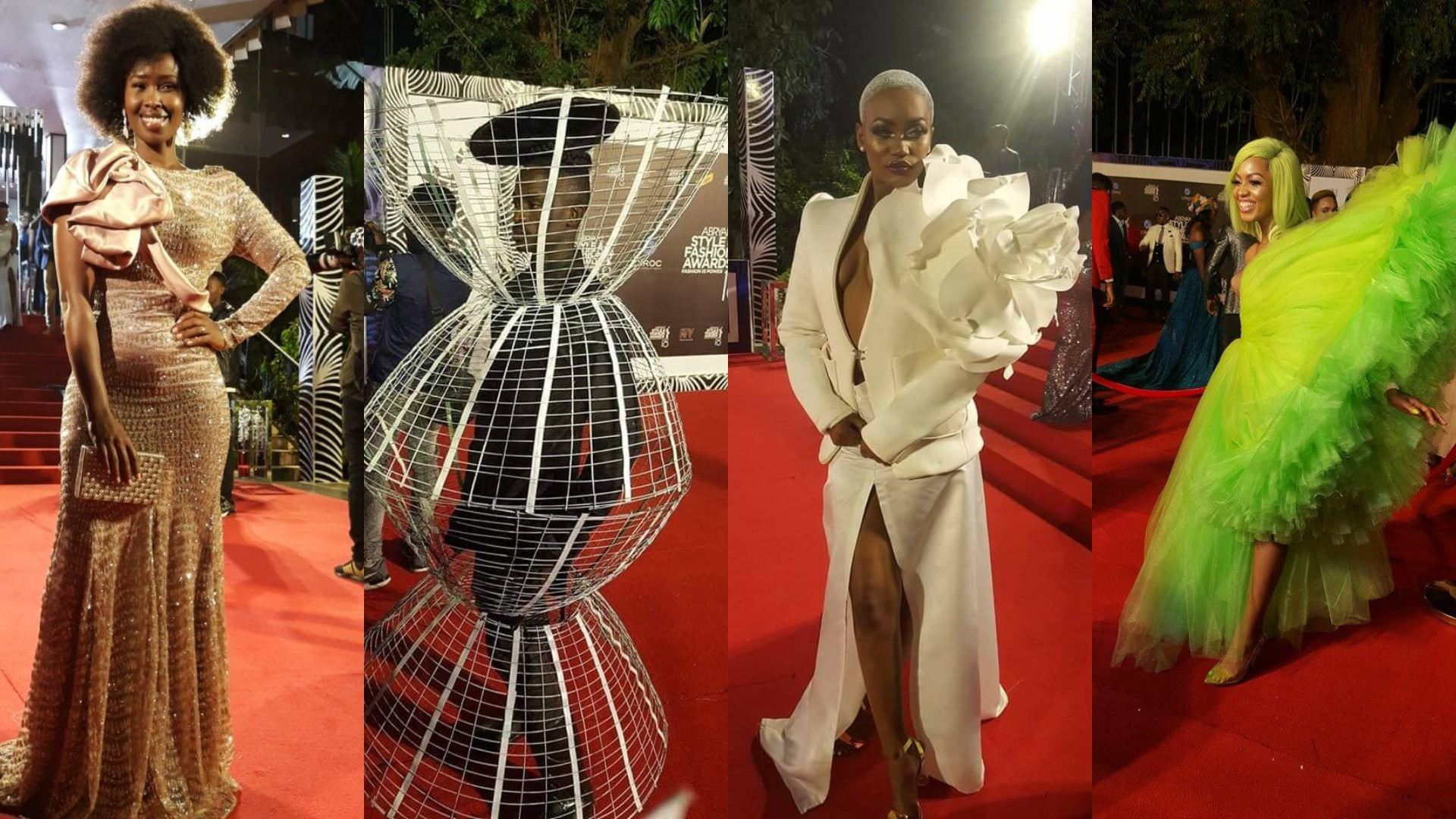 Pictorial Pomp Glamour As Abryanz Style And Fashion Awards Harangue Art Pml Daily