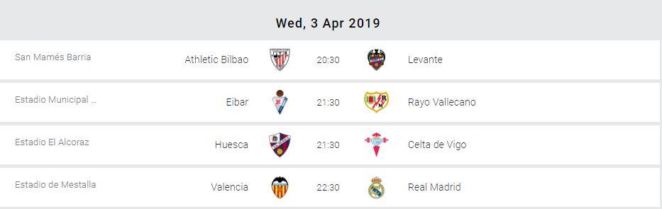 Valencia Vs Real Madrid Headlines La Liga Midweek Action Pml Daily