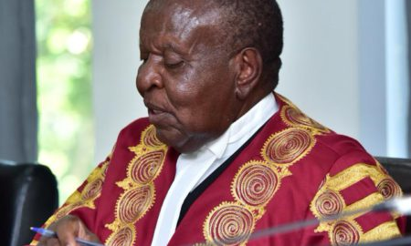 Justice Mwanguhya says the actions by Police to restrict MPs' consultation was unconstitutional, and also quashes the extension of the terms of Parliament and Local Councils including an amendment proposed by Nandala Mafabi to introduce presidential term limits. (PHOTO/COURTESY)