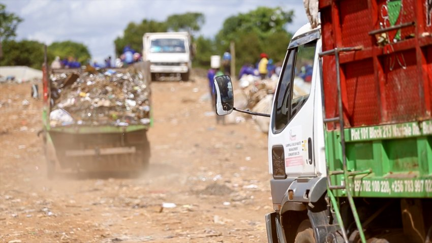 Kampala Capital City Authority extended contracts for waste collection companies. (PHOTO/File)