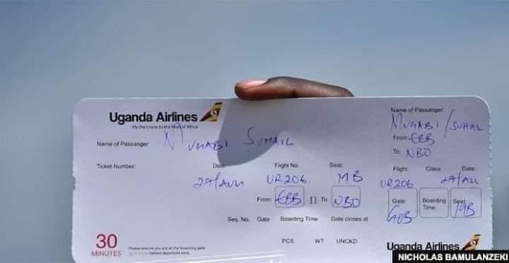 Image result for uganda airlines