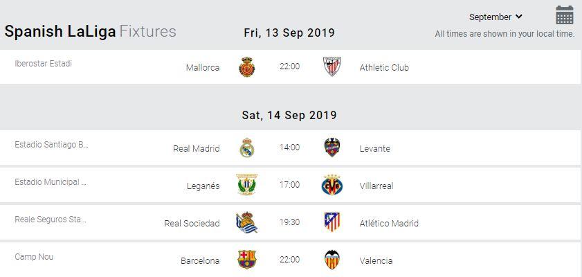 La Liga Preview Barcelona At Home To Valencia Headlines Match Day