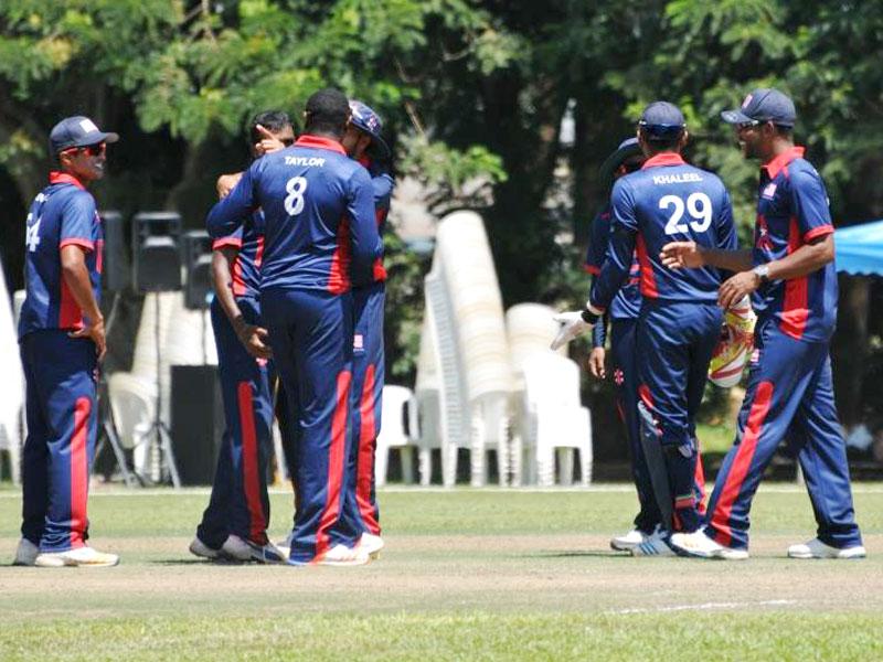 Team USA beat Uganda by 13 runs to relegate the Cricket Cranes. Alvin Bagaya.