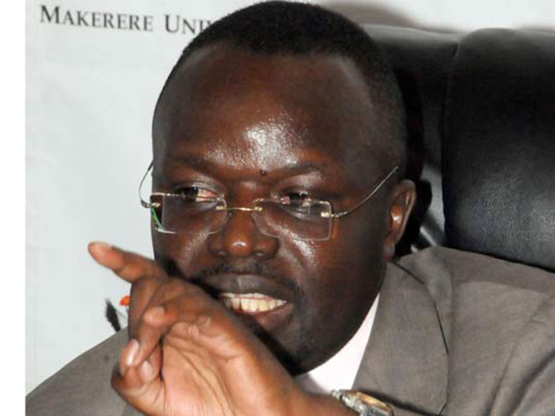 Prof Baryamureeba's membership on the MUBS  Council was revoked(FILE PHOTO)