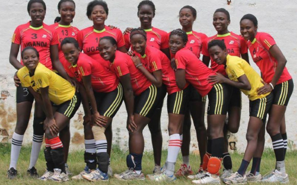The Uganda Netball team. Courtesy photo.