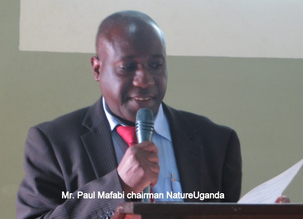 Paul Mafabi speaks at a past event. Courtesy photo.