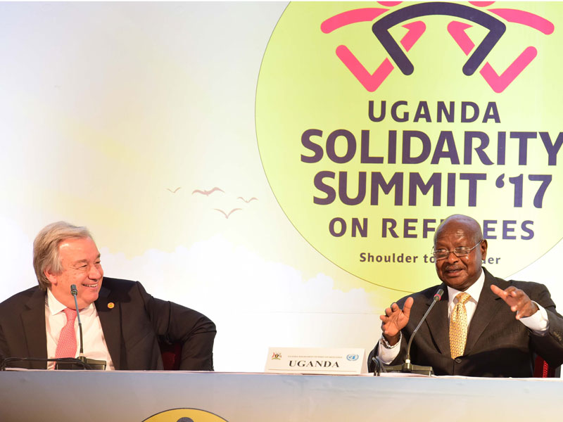 Museveni and Guterres