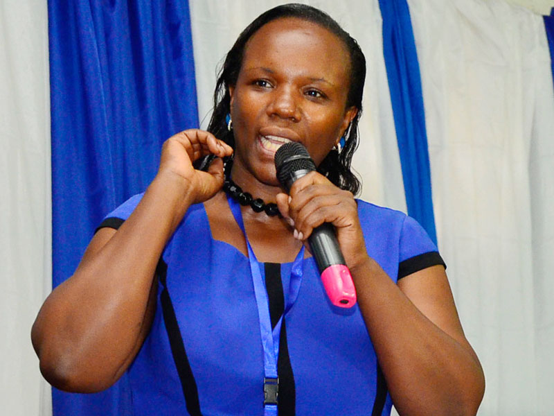 Former head of the Women league and FDC strongwoman Ingrid Turinawe has been expelled from the party (PHOTO/Courtesyl.