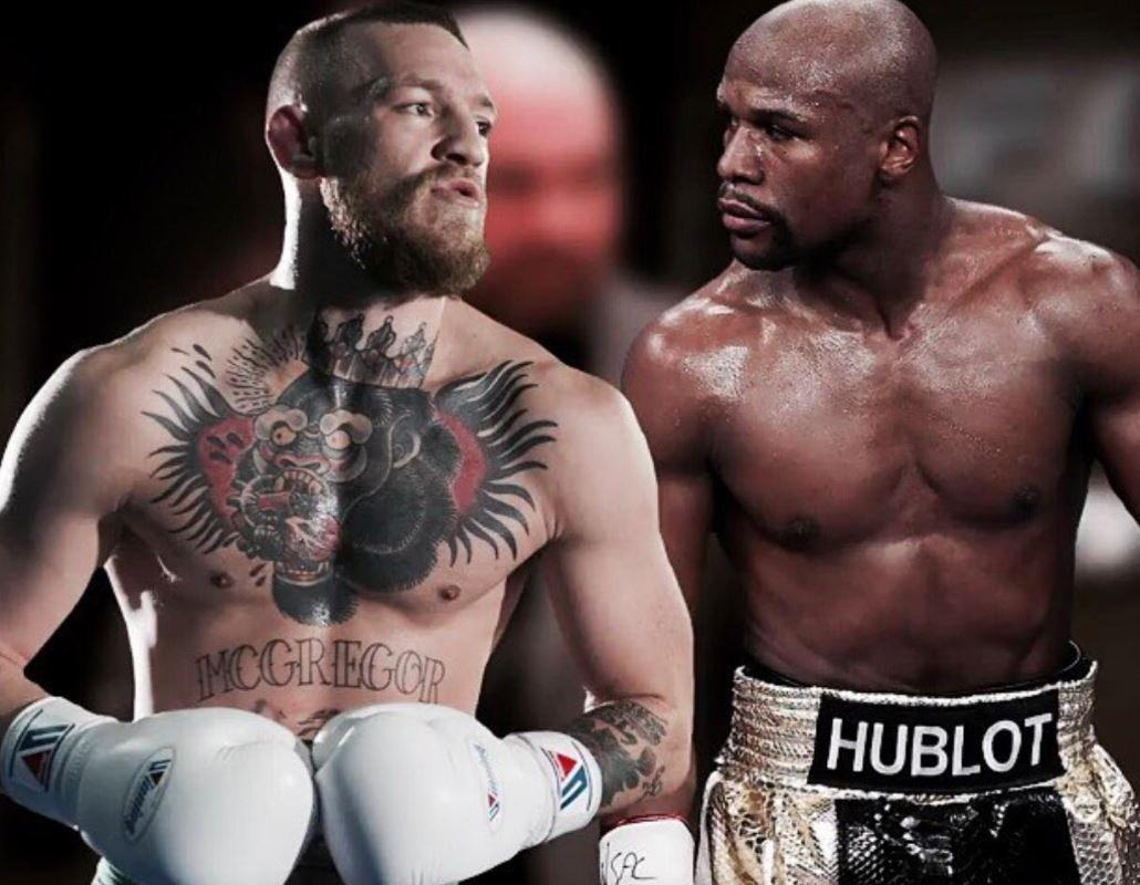 Conor McGregor calls out Floyd Mayweather on Twitter, further stoking the fire ahead of eagerly-anticipated showdown