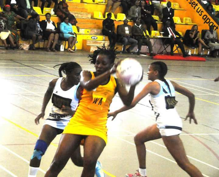 A She Cranes player in action during one of the games. Courtesy photo.