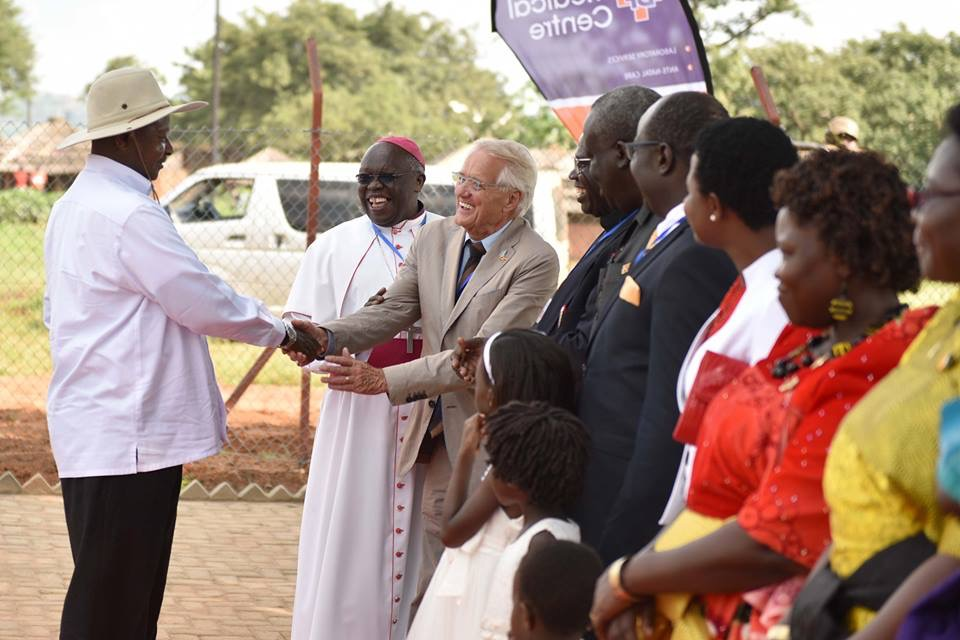 President Museveni Commissions Medical Center in Agago District