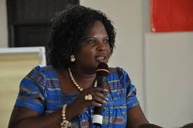 Amongi speaks out on UK land amendment meeting. Courtesy photo.