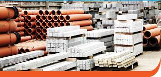 Some of the construction mmaterials that Builder's Yard deals in. Courtesy photo.
