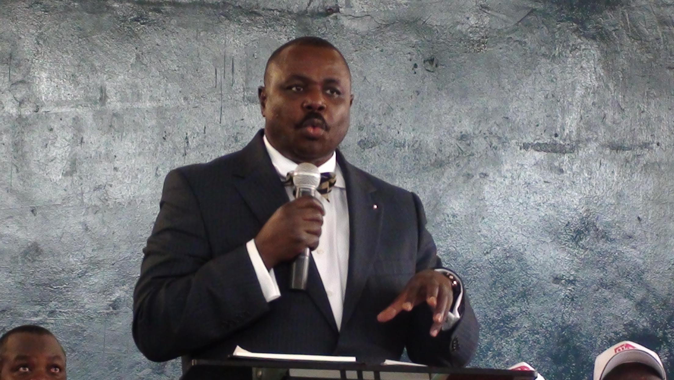 Deputy Speaker Jacob Oulanya (FILE PHOTO)
