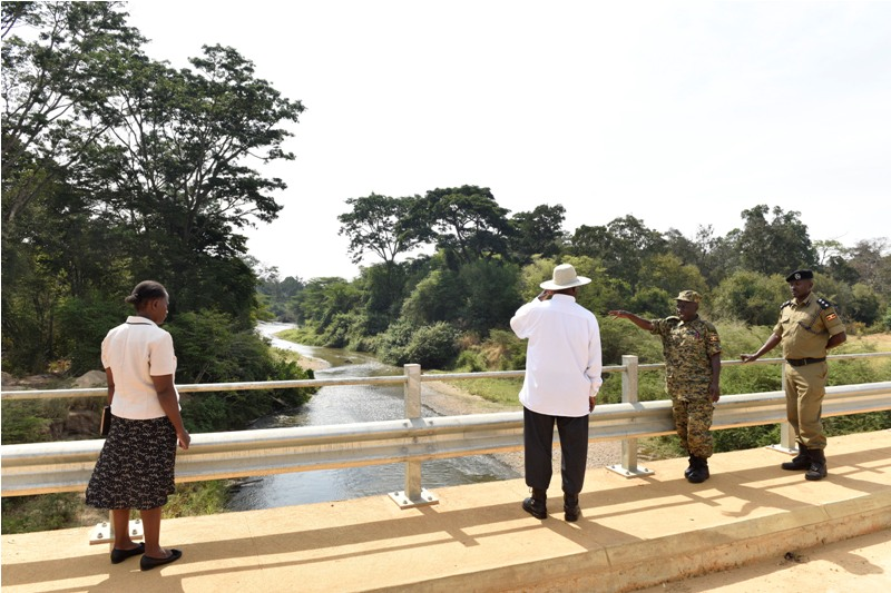 President Museveni tours Kanungu. Courtesy photo