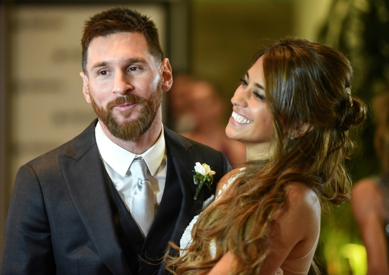 "Argentine media called it the ""wedding of the century"" for Rosario, the gritty northern port city where Messi, 30, and his bride, 29, met when the player was nine years old. Courtesy photo."