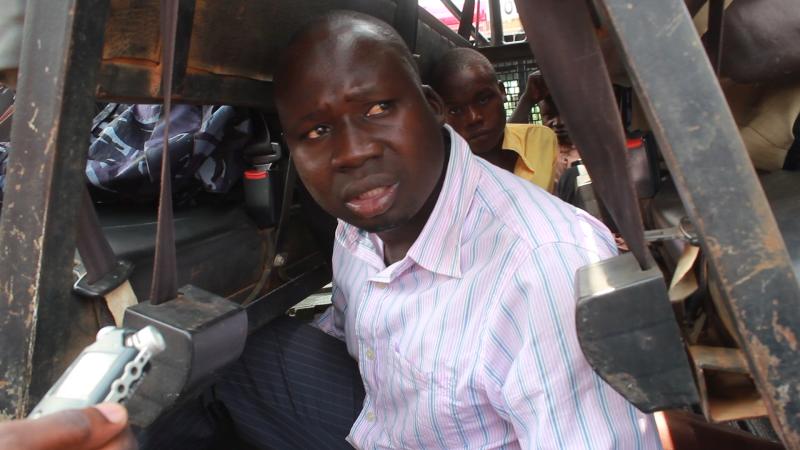 Suspect arrested in Nabiganda Village, Butaleja district.