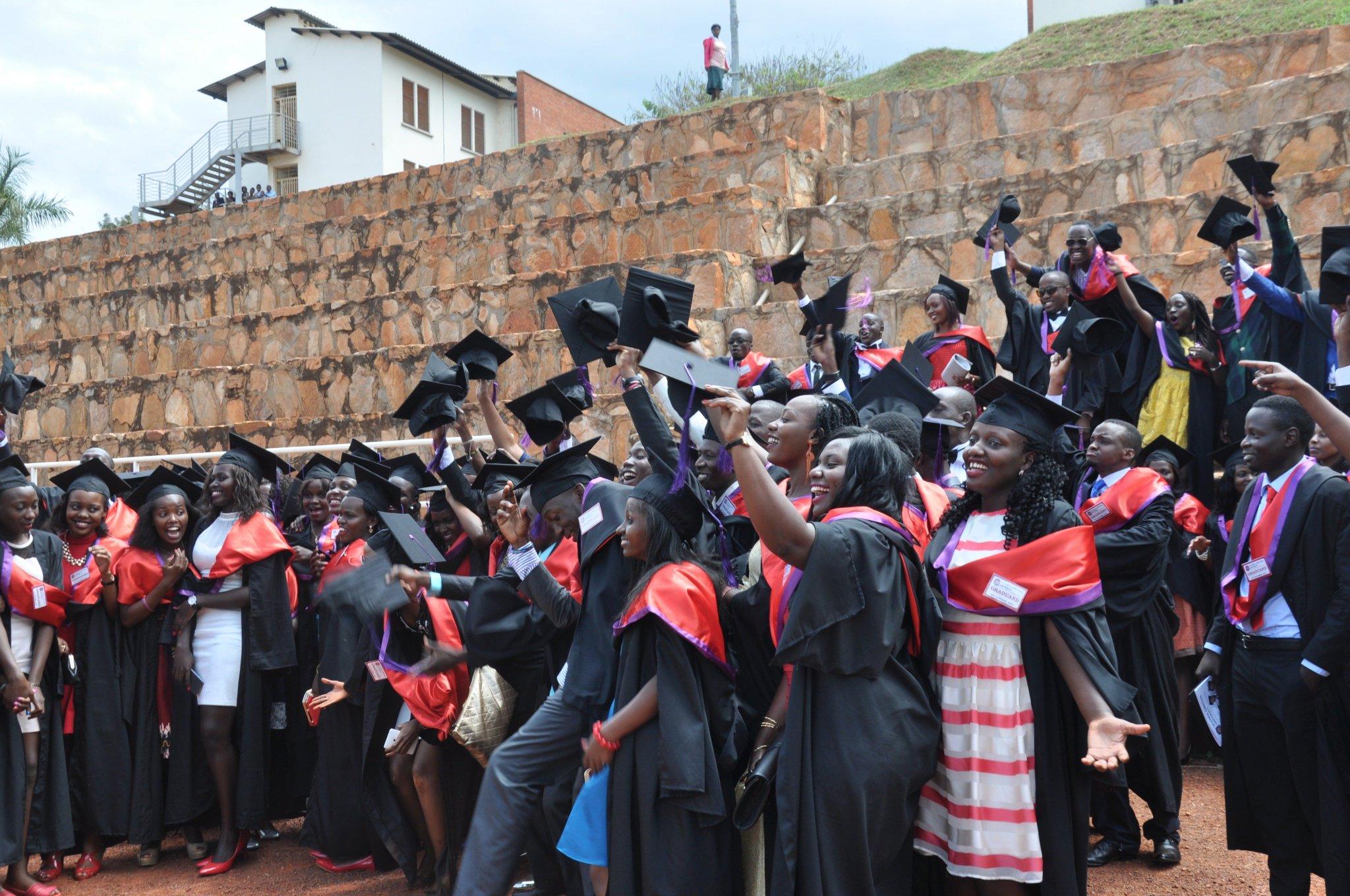 Graduates of UCU at a past graduation ceremony. Courtesy photo.