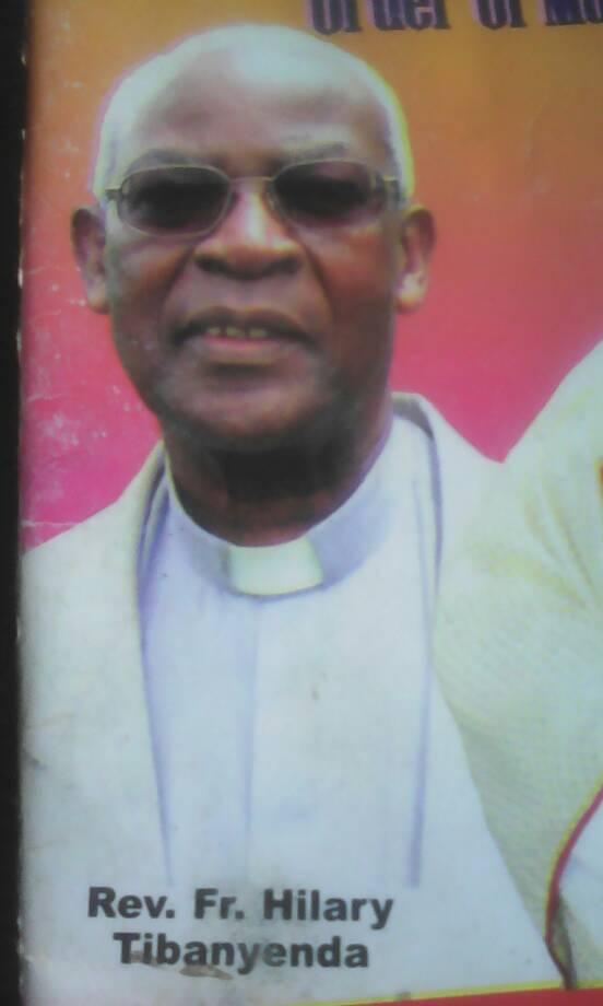RIP: Ex-Mbarara Vicar General Tibanyenda. Courtesy photo.