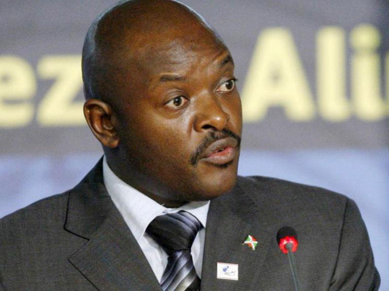 Burundi President Pierre Nkurunziza (AGENCIES PHOTO)