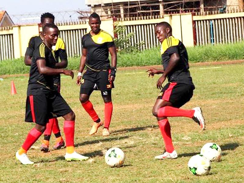 Left to right; Paul Mucureezi, Milton Karisa, Simon Sserukuma, Erisa Ssekisambu,Nelson Senkatuka. Shaban Lubega.