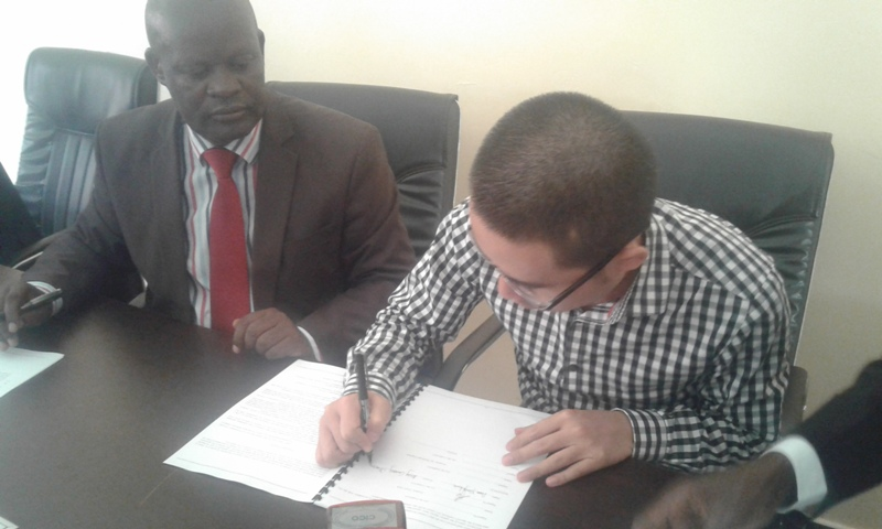 Acting managing director CICO and town clerk francis Byarabanawe cmyk