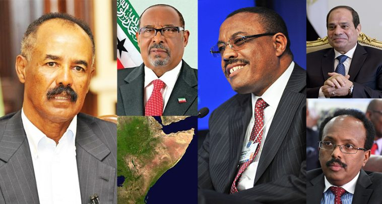 The players in the Horn of Africa's delicate geopolitics. Photo by roguechiefs.