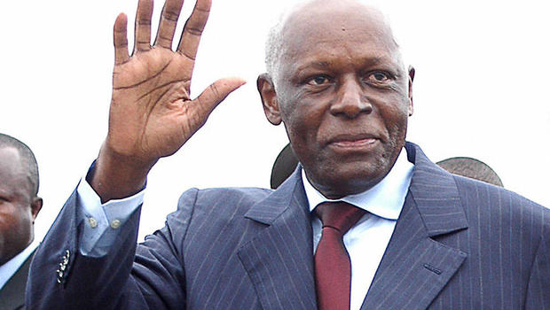 Angola's Jose Eduardo Dos Santos has been in power for almost four decades. Agency picture.