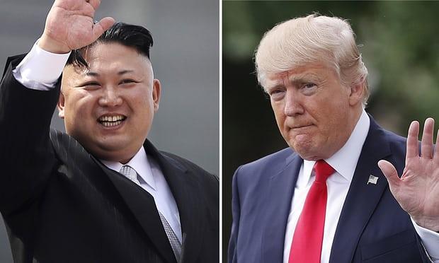 A photo montage of Kim Jun UN and Donald Trump. Courtesy photo.