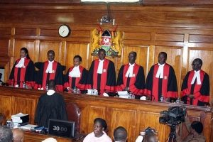 Kenya's supreme court in session. Agencies picture.