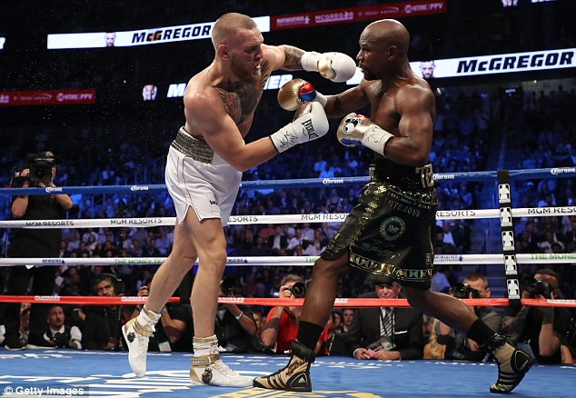 McGregor started brightly in the early rounds but was unable to really hurt Mayweather   Read more: http://www.dailymail.co.uk/sport/boxing/article-4827386/Floyd-Mayweather-Conor-McGregor-fight-one-off.html#ixzz4qxupDmVm  Follow us: @MailOnline on Twitter | DailyMail on Facebook
