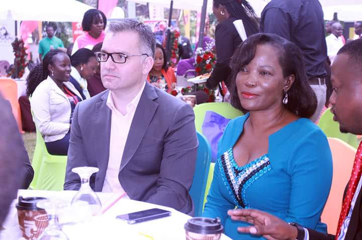 (Anwar Soussa & KCCA ED, Jenifer Musisi at a recent function)
