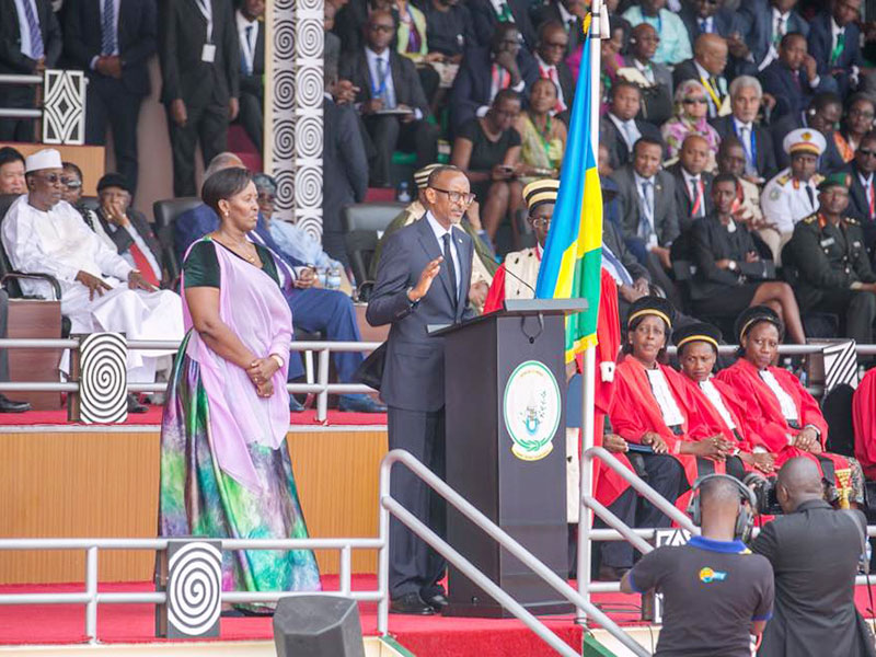 Kagame takes oath of office for the third time on Friday.
