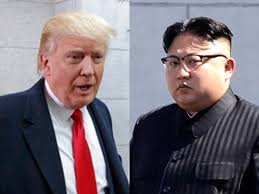 Trump and the North Korean leader hav in the recent past exchanged bitterly. Courtesy photo.