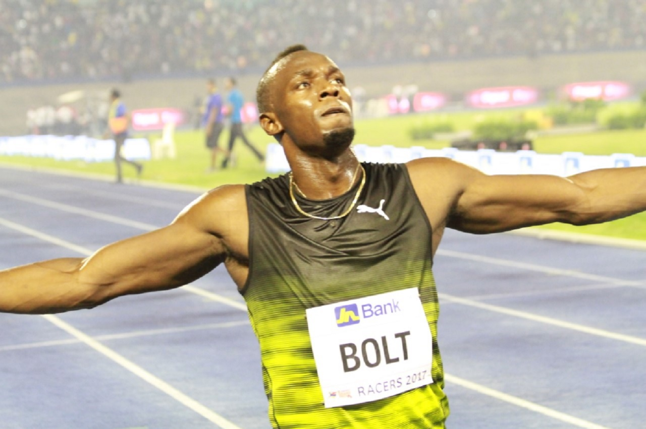 Bolt is into today's 100 metres semis.