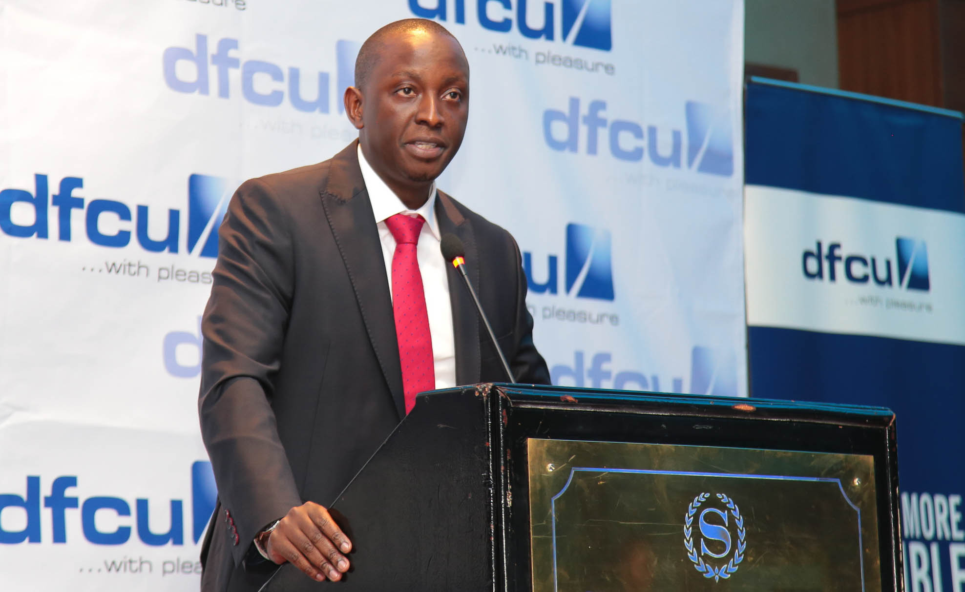 William Sekabembe dfcu Bank's Chief of Business. Courtesy photo.