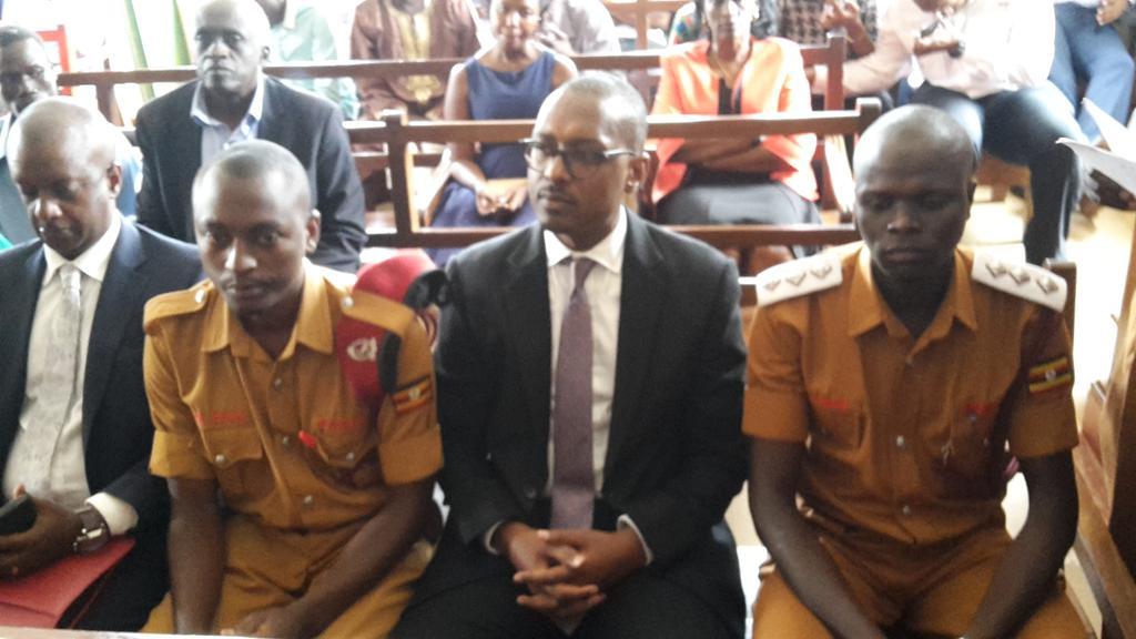 Mathew Kanyamunyu in court today. PMLDaily picture.
