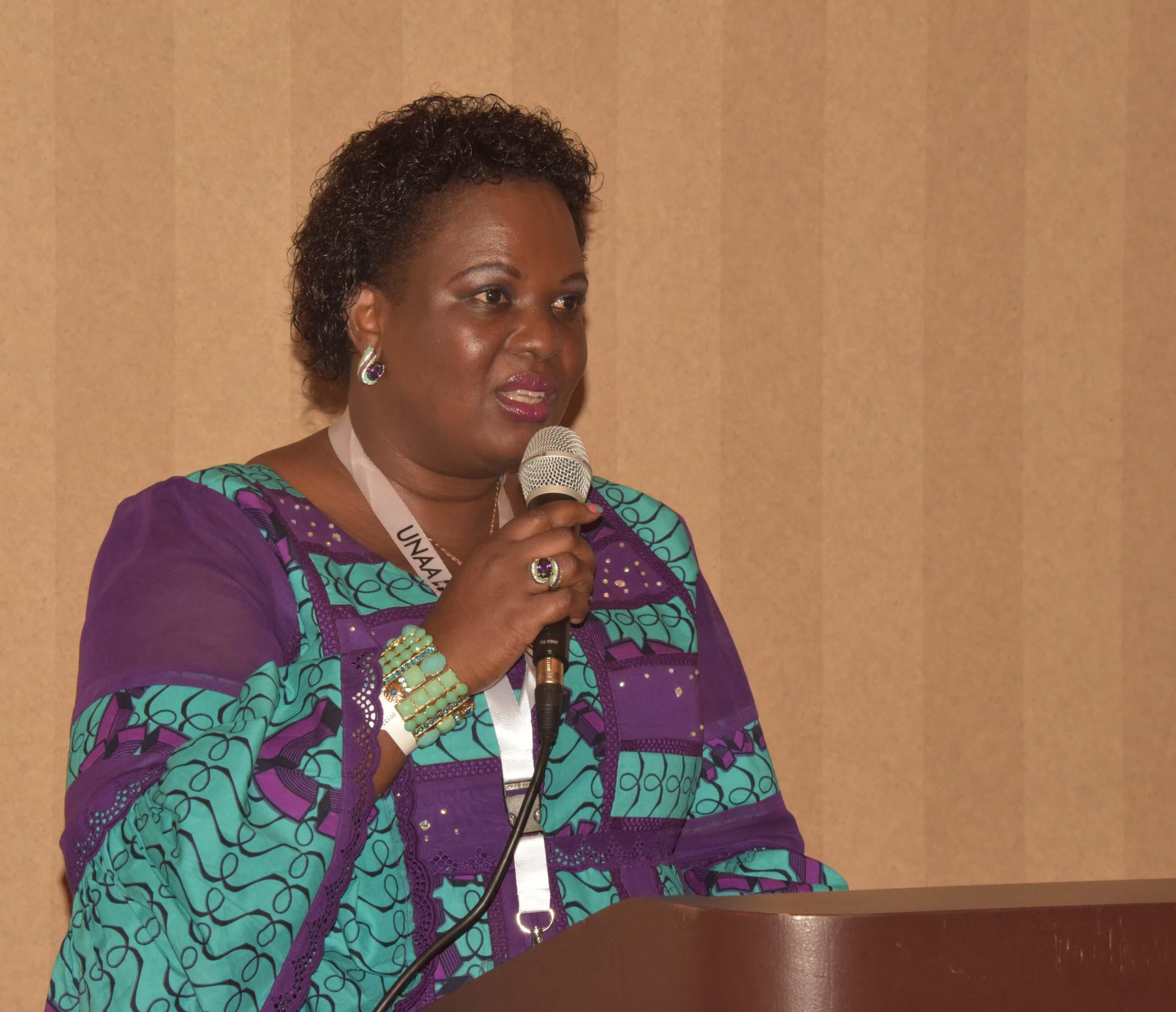 Lands minister Betty Amongi. Courtesy photo.