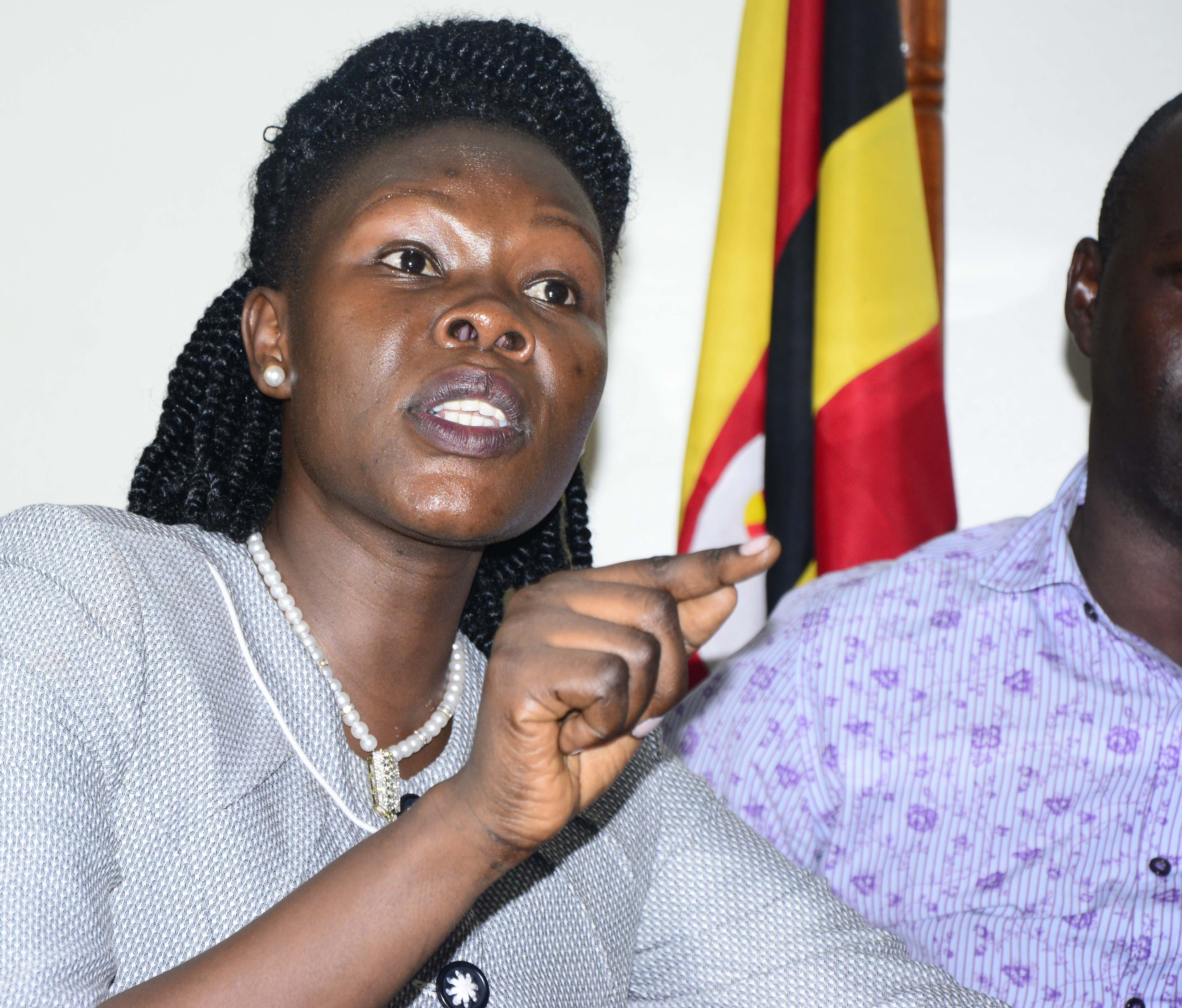 Minister Anite has fired at Deputy Attorney General Mwesigwa Rukutana. (PHOTO/File)