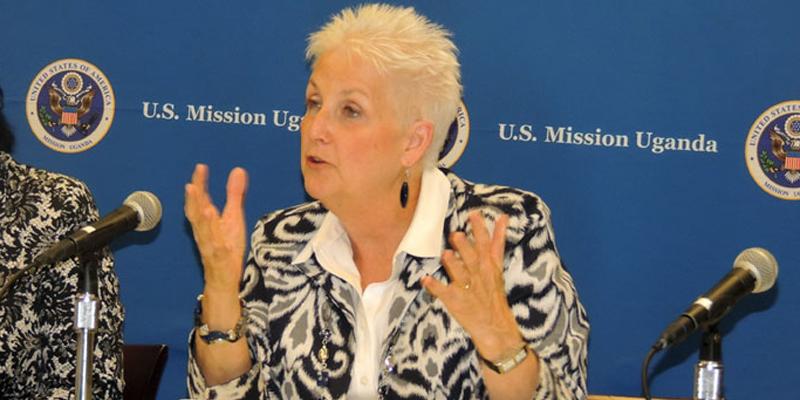 US ambassador to Uganda Deborah Malac