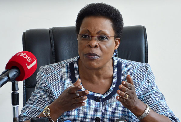 Former President of the Uganda Federal Alliance, Beti Olive Namisango Kamya has stepped down following mounting pressure from the party leadership. (PHOTO/File)