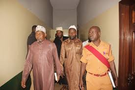 Maj Mohammad Kiggundu murder suspects appear before court during a past hearing. Courtesy photo.